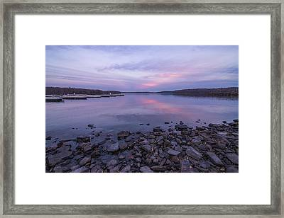 Purple Delight Framed Print by Kristopher Schoenleber