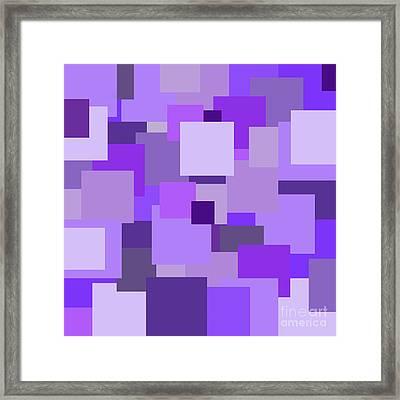 Purple Extravaganza Framed Print by Mariola Bitner