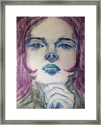 Purple Haze Framed Print by Agata Suchocka-Wachowska