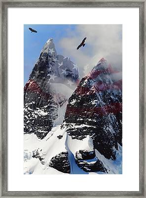 Purple Mountain Majesties Framed Print by Daniel Hagerman