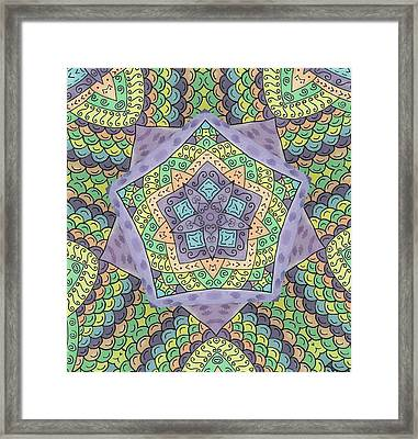Purple Passion Framed Print by Susie WEBER