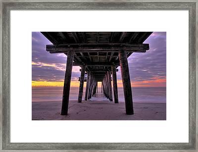Purple Sunrise Framed Print by Dan Myers