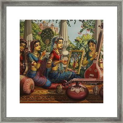 Purva Raga Framed Print by Vrindavan Das
