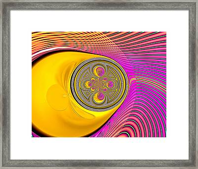 Pushing Through Framed Print by Wendy J St Christopher