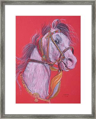 Puskar Fair Framed Print by Janina  Suuronen