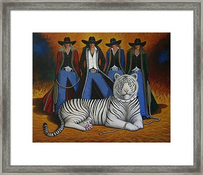 Pussycat Dolls Framed Print by Lance Headlee