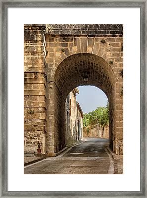 Railway Arch Framed Print by Georgia Fowler
