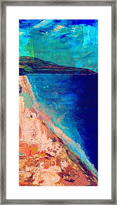Pv Abstract Framed Print by Jamie Frier