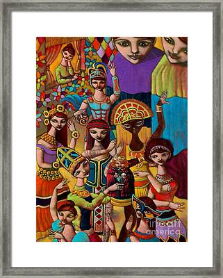 Pyesta Pilipinas Framed Print by Paul Hilario