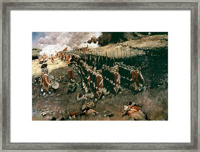 Pyle: Battle Of Bunker Hill Framed Print by Granger