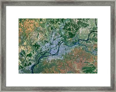Pyongyang Framed Print by Planetobserver