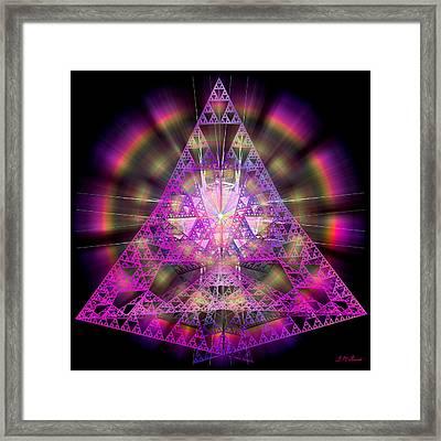 Pyramidian Framed Print by Michael Durst