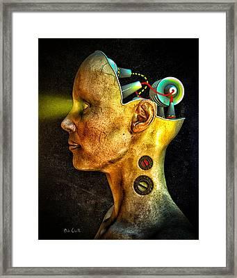 Pythia Framed Print by Bob Orsillo