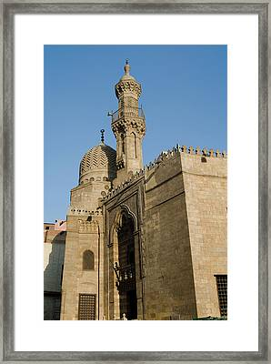 Qait-bey Muhamadi Mosque Or Burial Framed Print by Nico Tondini