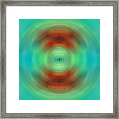 Qi - Energy Art By Sharon Cummings Framed Print by Sharon Cummings