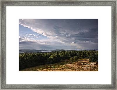 Quabbin Looking North Framed Print by Randi Shenkman