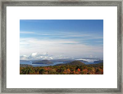 Quabbin Reservoir Framed Print by Juergen Roth