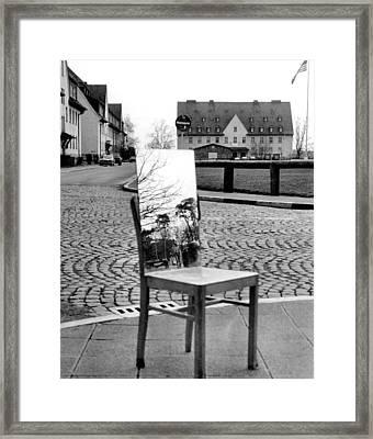 Quad And Mirror Framed Print by Bob Wall