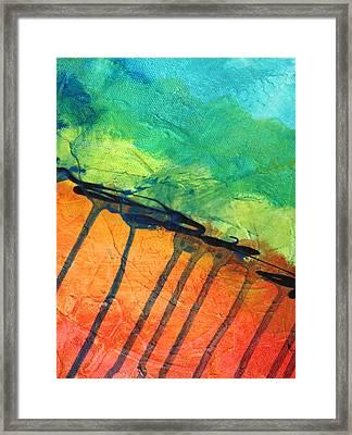 Quake Framed Print by Nancy Merkle