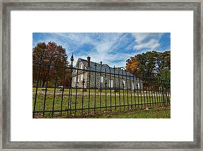 Quaker Meeting House - Warrington Framed Print by Mark Jordan