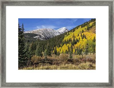 Quandary Peak Framed Print by Aaron Spong