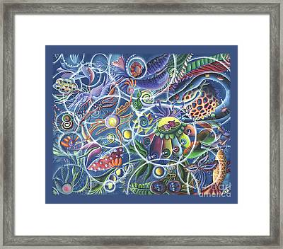 Quantum Entanglement Framed Print by Vera Tour