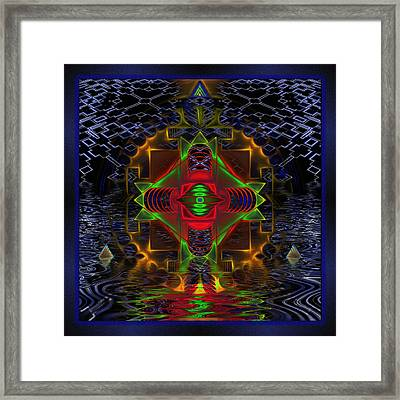 Quantum Mystery Framed Print by Mario Carini