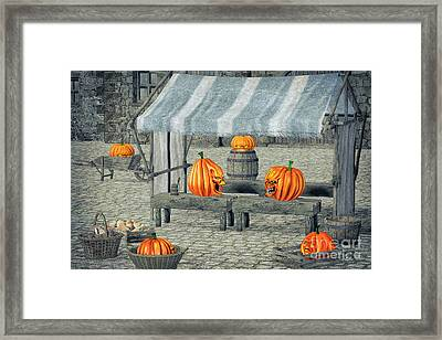 Quarrel Framed Print by Jutta Maria Pusl