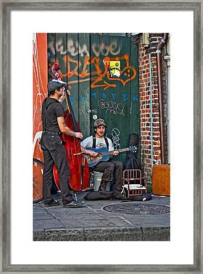 Quarter Blues Framed Print by Steve Harrington