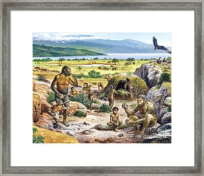Quaternary Period Landscape Framed Print by Publiphoto