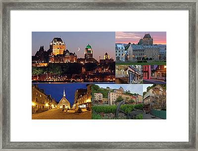 Quebec City Framed Print by Juergen Roth