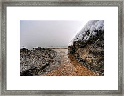 Queen City Winter Wonderland After The Storm Series 0041 Framed Print by Michael Frank Jr