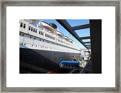 Queen Mary - 121216 Framed Print by DC Photographer