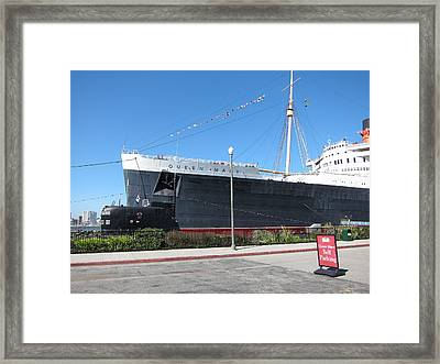 Queen Mary - 12122 Framed Print by DC Photographer