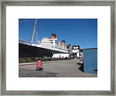 Queen Mary - 12123 Framed Print by DC Photographer