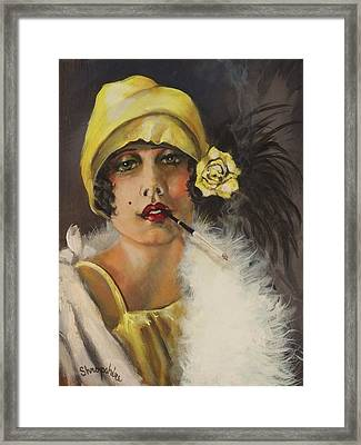 Queen Of Tarts Framed Print by Tom Shropshire