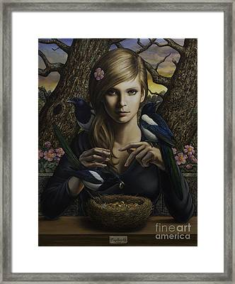 Queen Of Thieves Framed Print by Milos Englberth