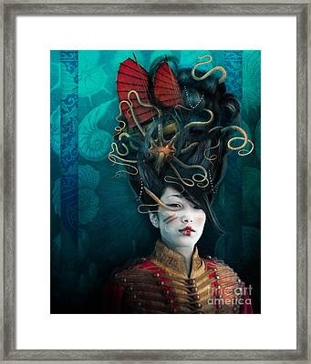 Queen Of The Wild Frontier Framed Print by Aimee Stewart