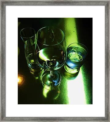 Quench Framed Print by Anna Villarreal Garbis