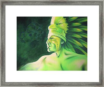 Quetzal Framed Print by Robert Martinez