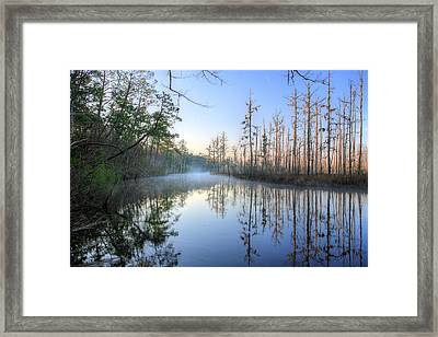 Quiet. Framed Print by JC Findley