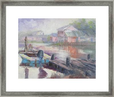 Quiet Morning In East Point Framed Print by Susan Richardson