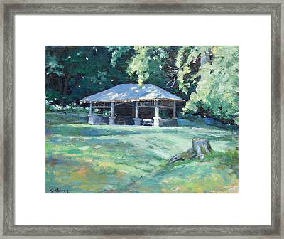 Quiet Resting Place Framed Print by Sandra Harris