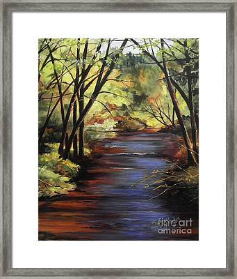 Quiet Retreat Framed Print by Suzanne Schaefer