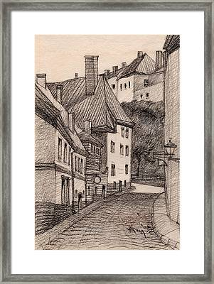 Quiet Framed Print by Serge Yudin