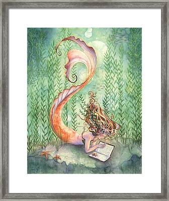 Quiet Time Framed Print by Sara Burrier