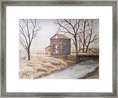Quiet Times Framed Print by Peter Kundra