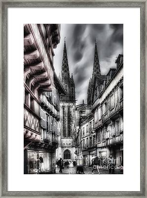 Quimper France Framed Print by Colin Woods