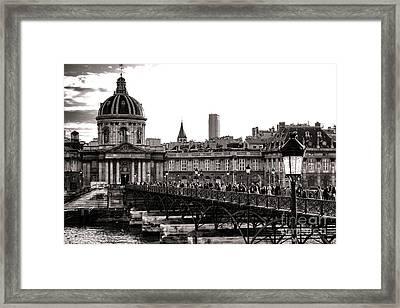 Quintessential Paris Framed Print by Olivier Le Queinec