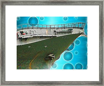 Quirky Advance Framed Print by Wendy J St Christopher